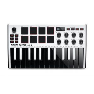 Akai MPK MINI MK3 25 Mini key Midi Keyboard White
